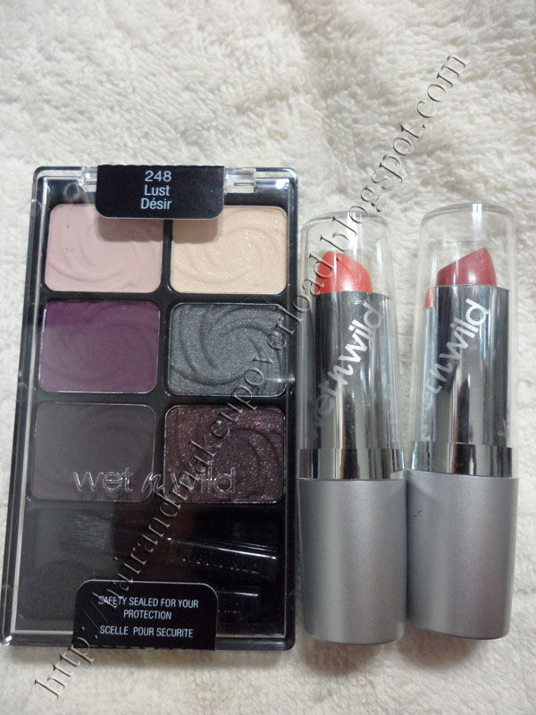 My very first Wet N Wild makeup :)