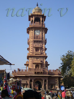 Clock Tower Market of Jodhpur in India