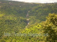 Bhilar waterfalls of Panchgani near Pune in India