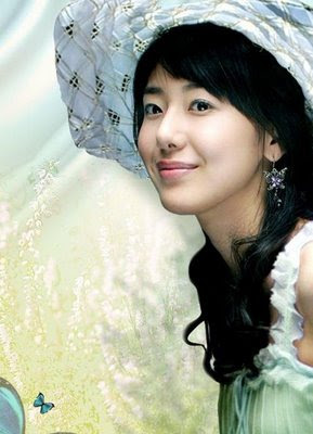 Photo Korean Artist on Korean Artist   Yoon Jung Hee   Face Girl