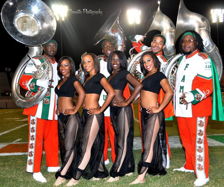 famu FAMU Diamond Dancers and 100rd