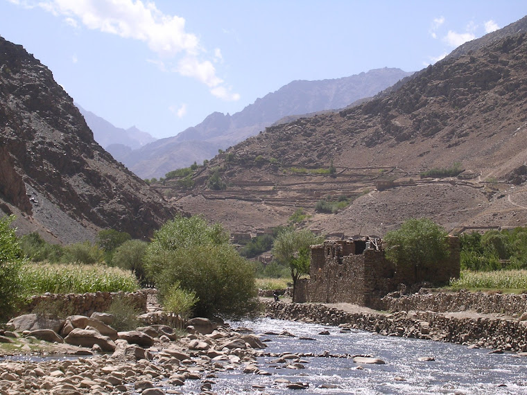 The blue sky of Panjshir