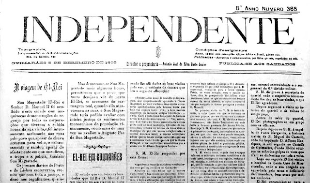 Na morte de Alberto Sampaio (notícia do Independente)