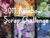 rainbow scrap challenge