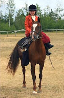 4-H Horseback Rider with Helmet