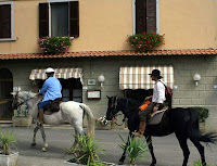 Horseback Riding through Tuscan Village