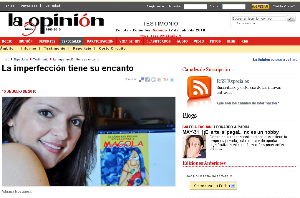 la opinion cucuta colombia: