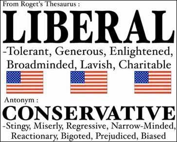 Liberal vs. Conservative