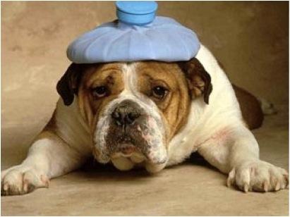 vakna av huvudvärk