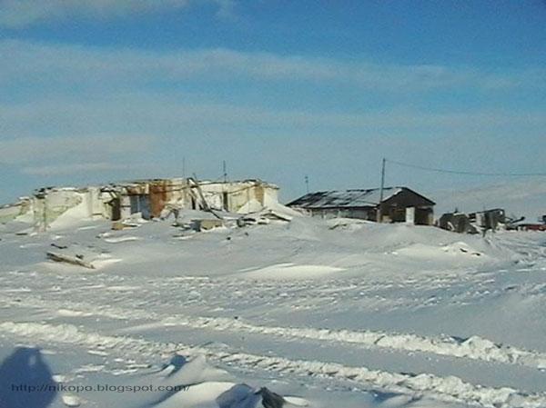 Фото прииска Восточный 2004-общежития исчезают потихоньку