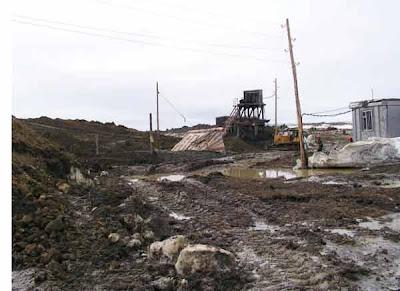 фотографии прииска Восточный 2008-на шахте