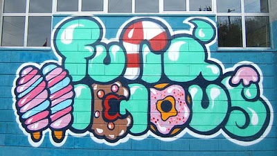 bubble graffiti letters