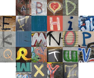 graffiti alphabet,graffiti fons