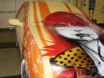 Graffiti Car From Nessa Latini