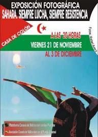 Exposición fotográfica: 'Sahara: siempre lucha, siempre resistencia'