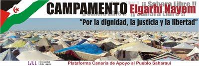 Campamento en la Universidad de LA LAGUNA. ULL