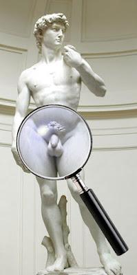 David was no Goliath