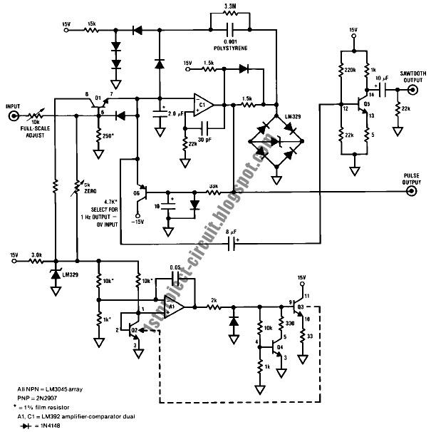 project circuit design  exponential voltage