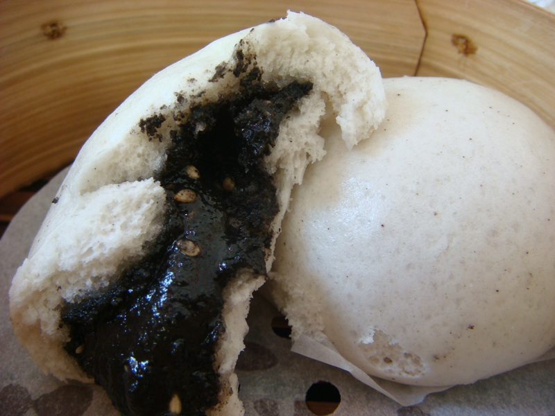 BAO TODAY and Black Sesame Bun