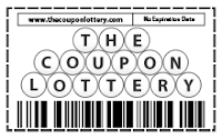 The Coupon Lottery Logo
