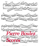 Pierre Boulez_ Partituren-Scores-Partitions