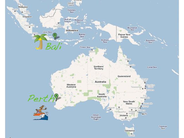 Where is bali located in indonesia where situated on a world map scootin down under getaway to bali where is bali located gumiabroncs Images