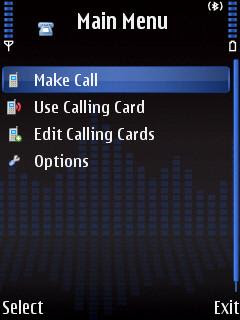 Mobile Calling Card Dialer