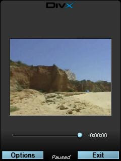 DivX Mobile video player for mobile phones