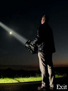 BrightLight mobile phone flashlight application