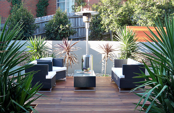 landscape design melbourne modern courtyard landscape design ideas