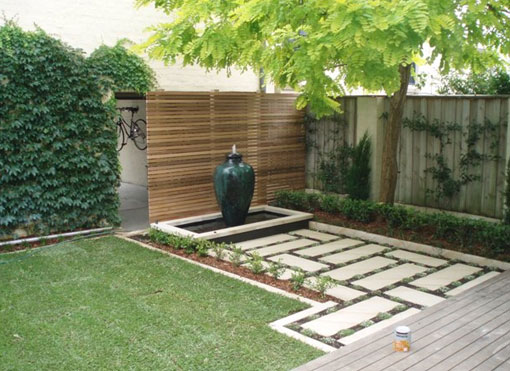Garden design melbourne backyard design a journey down for Back garden simple designs