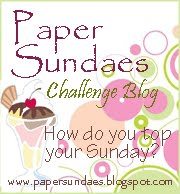 I design for Paper Sundaes Challenge Blog!
