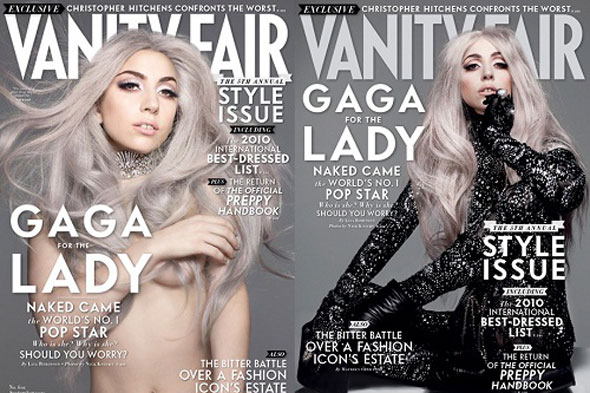 lady gaga vanity fair cover. Lady Gaga on the cover of the September issue of Vanity Fair.
