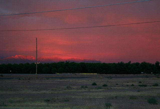 2010 Dark And Stormy Night Contest >> The Zees Go West: Surprise Sunset for Skywatch
