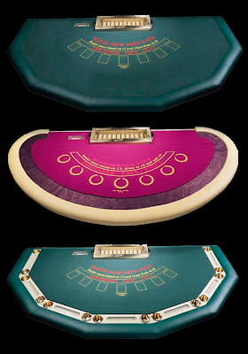 Craps table material