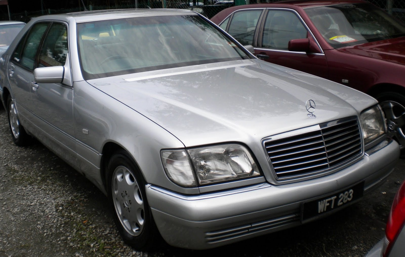 Mercedes benz s320 a petrol ngv modified for Mercedes benz 1995 s320