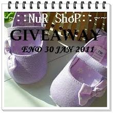 Nur Shop Giveaway Contest
