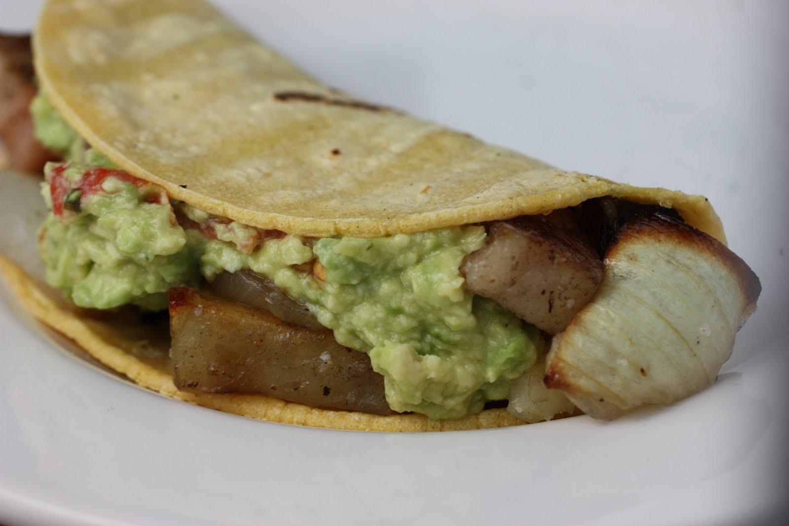 bacon tacos