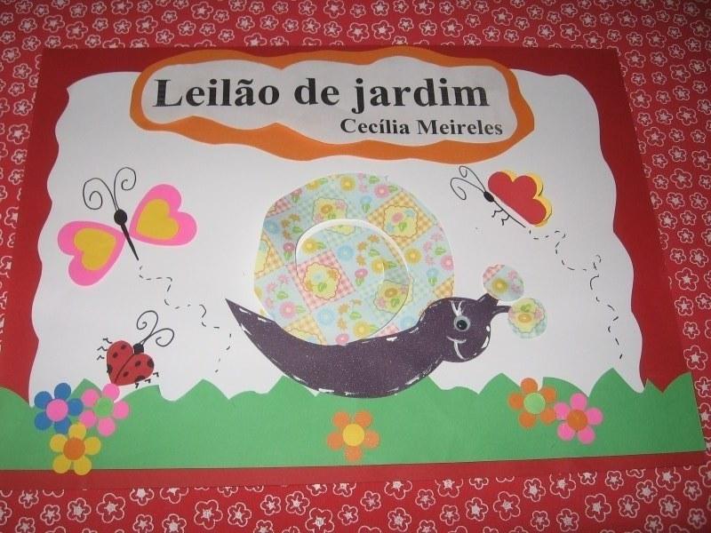 flores no jardim poemaArte de Ensinar e Aprender Leilão de jardim