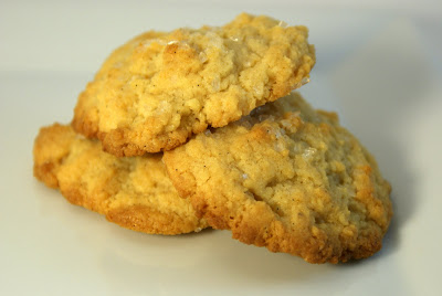The Merlin Menu: Vanilla Bean Malt Cookies