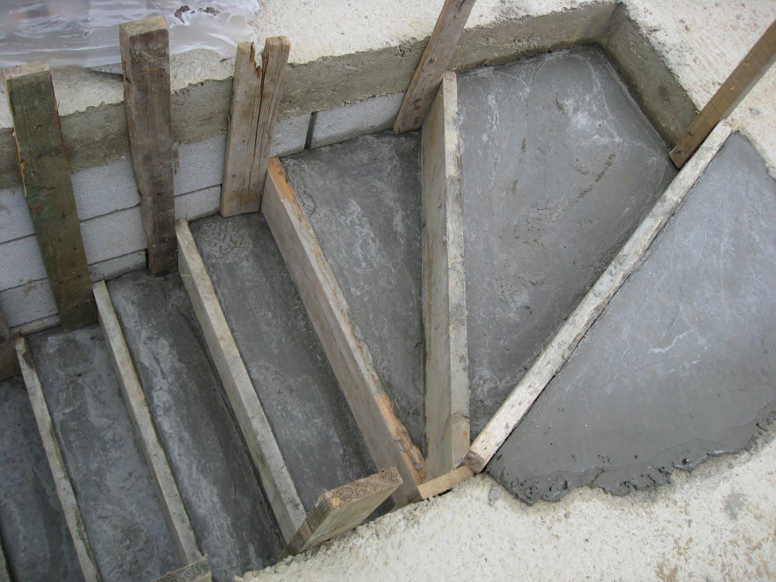 Betonnen trap maken. good betonnen trap eventueel houten treden aan
