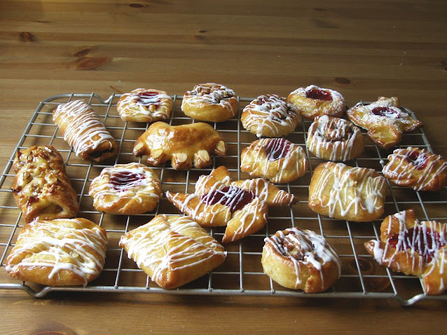 vegan Danish pastries