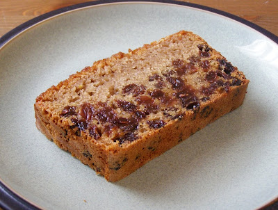 Slice of Earl Grey Tea Loaf