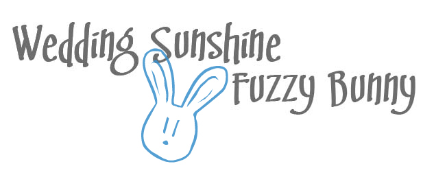 Wedding Sunshine Fuzzy Bunny