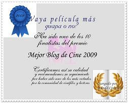 Blog Finalista-Mejor Blog 2009-Mundo Cinefilia