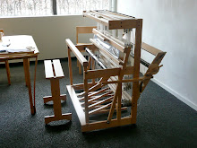 Weaving at Little Garth