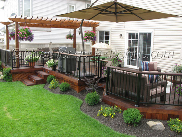 deck designs cheap deck designs