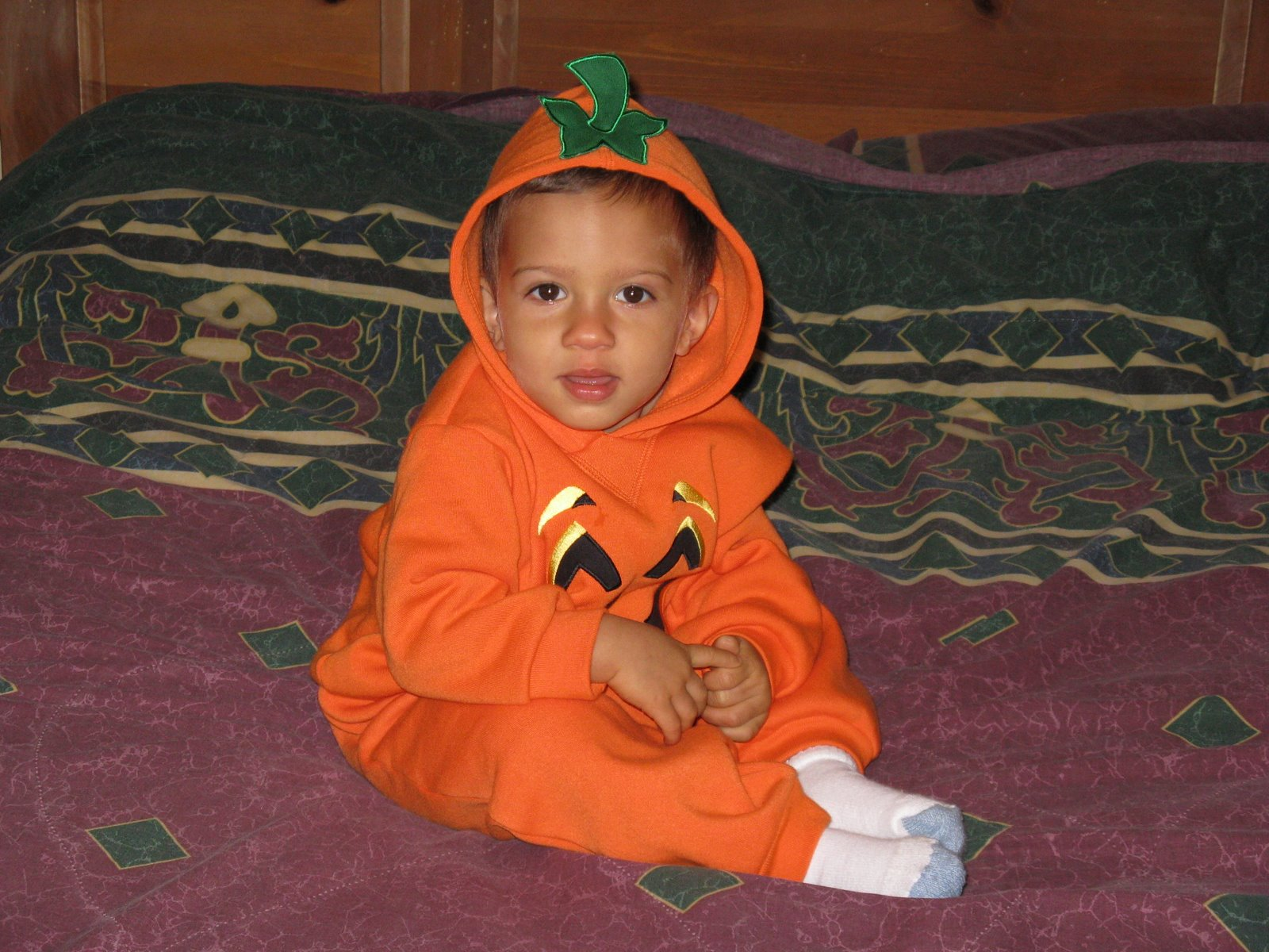 VJ, Our Little Pumpkin