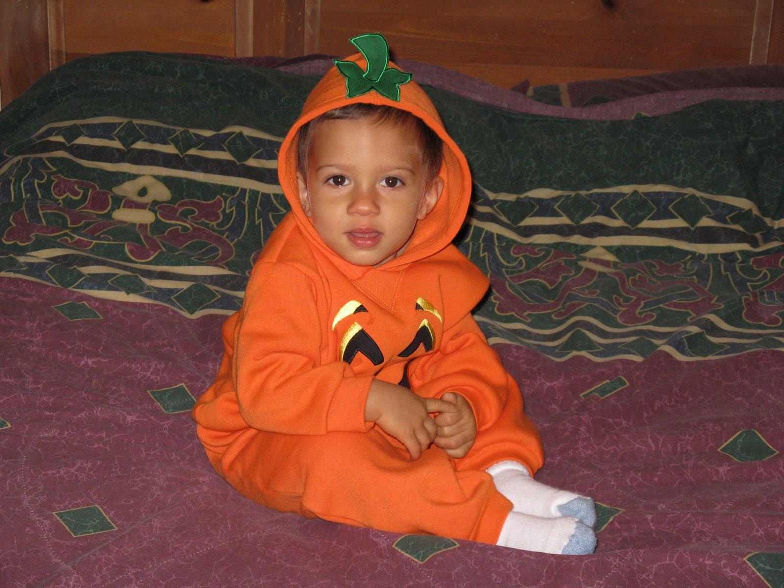 VJ, Our Little Pumpkin