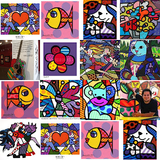 Crations Peinture Julia Style Romro Britto